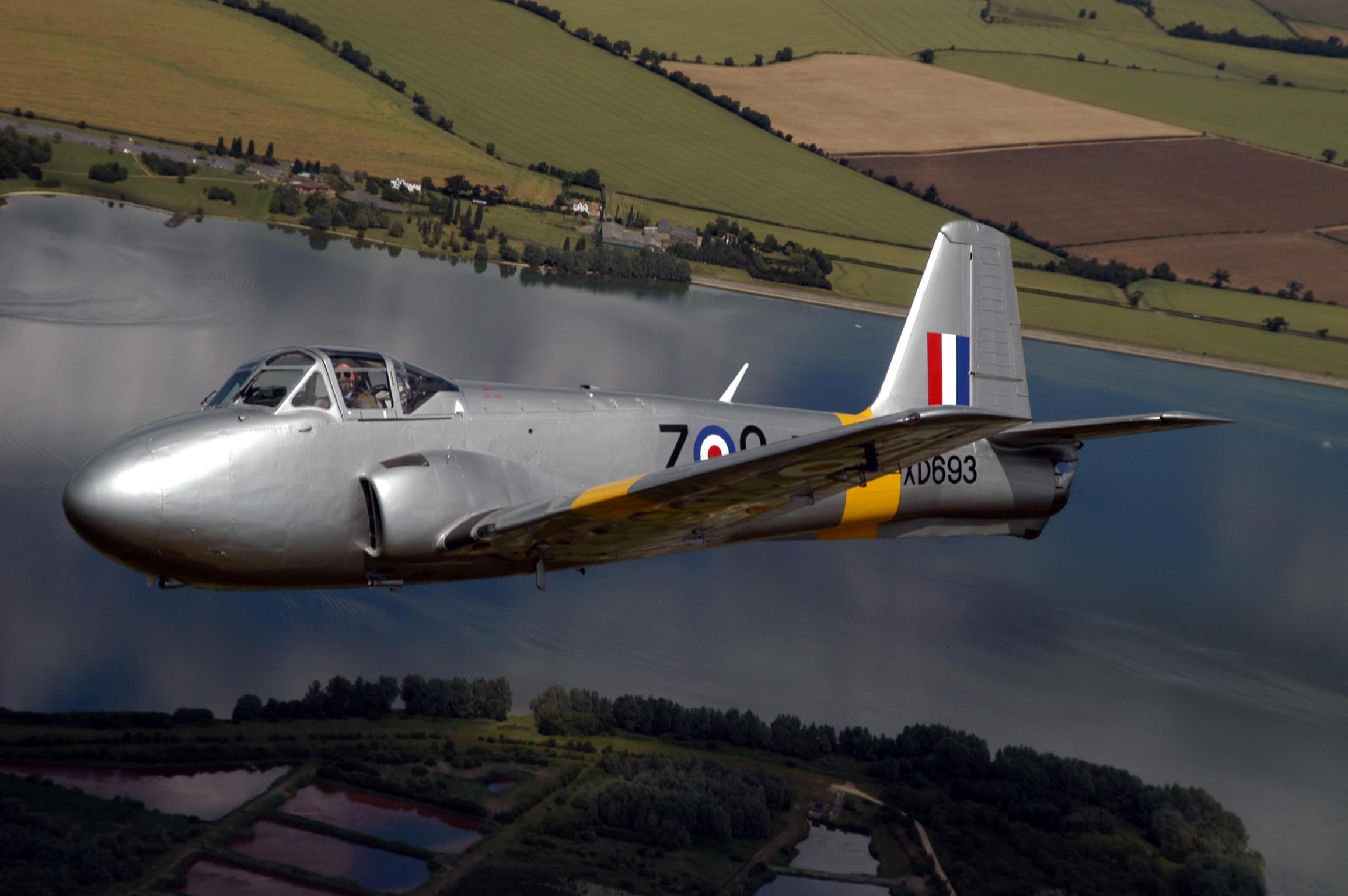 Hunting Percival P-84 Jet Provost T1