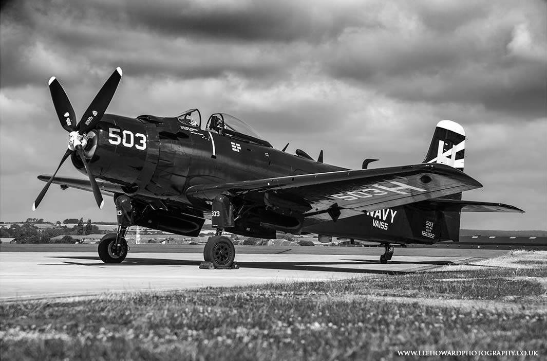 Douglas AD-4NA Skyraider (126922 'H-503' registered G-RADR)