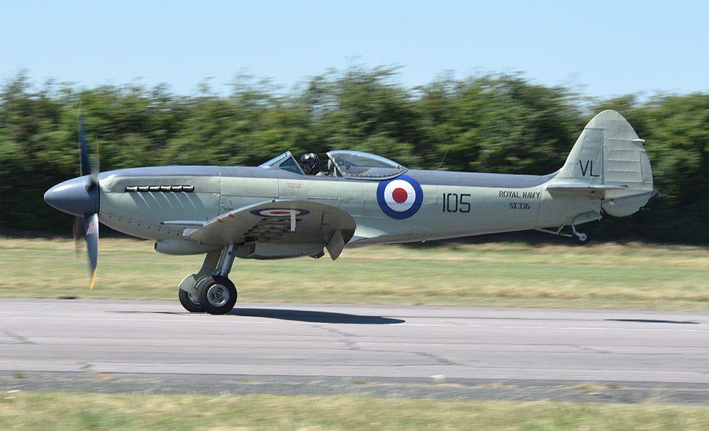 Seafire F Mk. XVII SX336 John Beattie